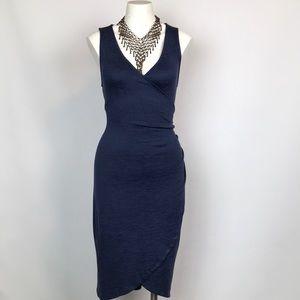 Leith Faux Wrap Dress Size M